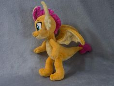 Smolder Dragon Plush Toy Made to Order image 4