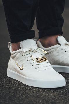 "unstablefragments2: ""Nike Tiempo Vetta '17 'Ivory/Metallic Gold-White' (via Kicks-daily.com) """
