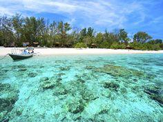 Clear Blue Bali Beach