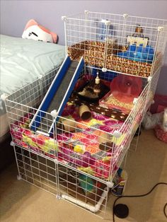 My finished hedgehog cage. Minor tweaks here and there but it's done!