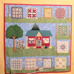 Showing your quilt shop love... in a quilt!