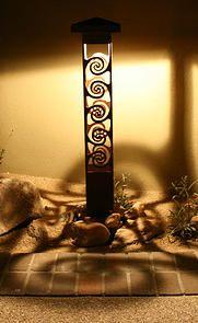 Decorative steel bollard lights photo gallery