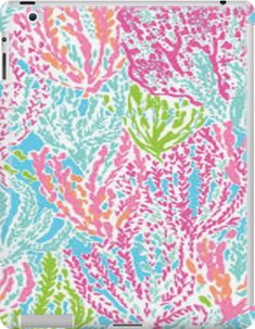 Lilly Inspired Print Ipad Snap Case by Morgan Turrentine