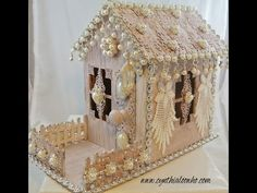 Shabby Chic Gingerbread House.