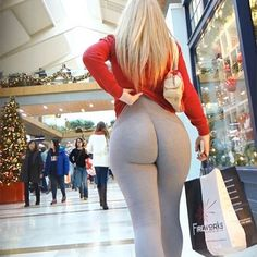 White Girls at The Mall  #iTeasers - Double Tap & Tag a Few Bros  by iteasers