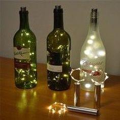 37 Amazing Diy Bottle Lamp Ideas trending #decoration #37 #amazing #diy #bottle #lamp #ideas