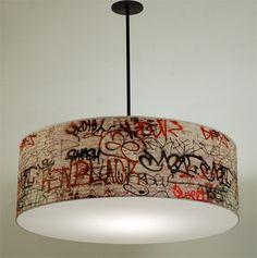 32inch MOSTLIGHT pendant light fixture / S3rd pattern par resurface, $1200.00