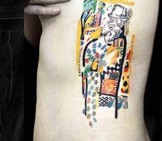 Love tattoo by Bartt Tattoo