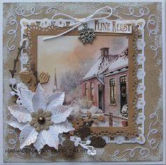 Trijntjes Kaarten: Kerstkaarten week 35 4 stuks