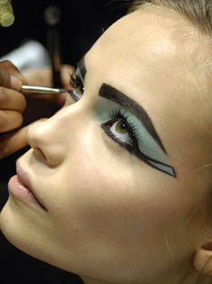 'Cleopatra' created a make-up
