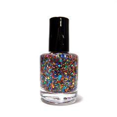 KB Shimmer Clown Puke Nail Glitter Polish Vanish - BN rare USA Brand | eBay