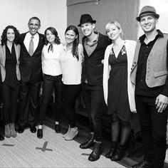 Brandi Carlile meets the Prez!