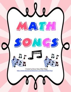 Math Songs - This collection of 5 songs helps students remember key math concepts. The songs focus on the concepts order of operation, place value, long division, line geometry, and data (mode, median, and mean). All songs are sung to familiar tunes and are parodies of popular songs. Students love singing the songs and easily remember the concepts with these powerful mnemonic devices!