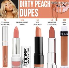 Dirty peach dupes kylie cosmetics