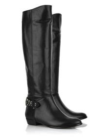 Sigerson Morrison Fully black leather riding boots