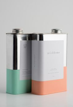 Innovative coffee packaging, looks like oil cans (to give you not your car a boost)