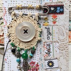 a little medal of good lucky 3 by dottieangel on Etsy
