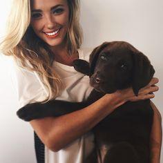 Brooke Hogan || Instagram Brooke Hogan Instagram, Cute Animal Pictures, Mans Best Friend, On Set, Pretty People, Best Dogs, Labrador Retriever, Cute Animals, Pets