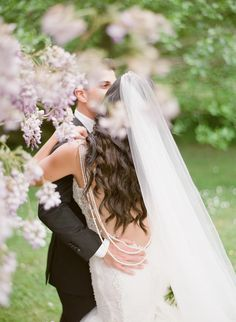 A Real-Life Fairytale Wedding in a French Castle