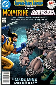 Super-Team Family: The Lost Issues!: Wolverine Vs. Doomsday