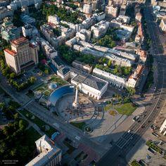 Kyiv city, drone photo Paris Skyline, City Photo, Travel, Viajes, Destinations, Traveling, Trips