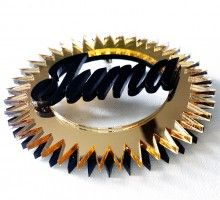 Custom name acrylic earrings