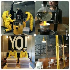 Breaking Bad themed coffee shop in Istanbul