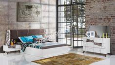 Sierra Beyaz Yatak Odası