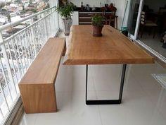51 Tipos de Mesa para Varanda Versáteis e Encantadores! — Decoração de Casa