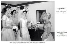PA 1961 04 Aug GG SCG  wedding bridemaids