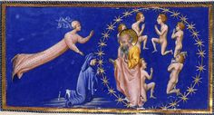 St. John examines Dante on Love  Creator: Giovanni di Paolo  Date: c.1450   http://www.worldofdante.org/media/images/more/full/c11807-10a.jpg