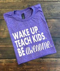 Wake Up Teach Kids Be Awesome