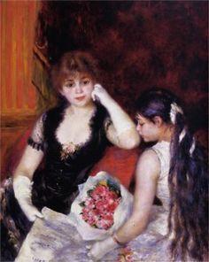 Pierre-Auguste Renoir - Dans la loge