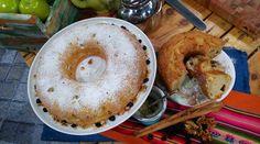 Torta de manzana verde a la cucharada