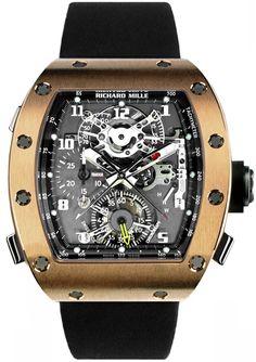 Richard Mille RM 008 Tourbillon Split Seconds Chronograph Mens Watch Model: RM008-V2-RG