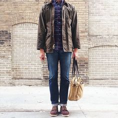 Red Wing Shoes Owners Club | anideallength:   Filson Fridays. #wiwt #filson...
