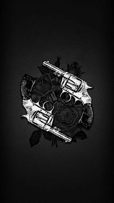 Gun Roses iPhone Wallpaper - iPhone Wallpapers