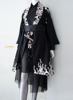 Kawaii Fashion, Lolita Fashion, Kimono Fashion, Fashion Dresses, Mode Kimono, Lolita Mode, Anime Dress, Fantasy Dress, Japanese Outfits