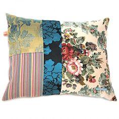 kussen patchwork stripe Flower VANDESTOEP