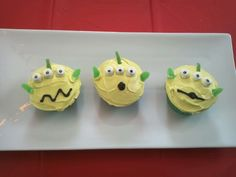 Toy Story - Alien cupcakes