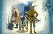 Star Wars Heroes Art by Star Wars Artist