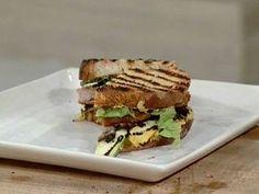 Sándwich con crema de lentejas