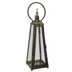 "The Jolly Christmas Shop - Raz 18"" Antique Gold Metal Lantern 3628267, $39.99 (https://www.thejollychristmasshop.com/raz-18-antique-gold-metal-lantern-3628267/)"