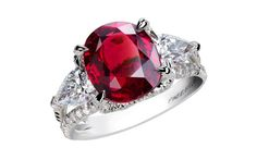 Fabergé - Ruby and Diamond Ring