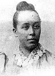 Haller Tanner Dillion Johnson (October 17, 1864 - April 26, 1901) became the first female physician in Alabama when Booker T. Washington recruited her from the Women's Medical College of Pennsylvania in 1891 to provide health care for Tuskegee Institute and the immediate area. She left Tuskegee three years later when she married Rev. John Quincy Johnson and she died in childbirth in Nashville where he pastored St. Paul A.M.E. Church. #TodayInBlackHistory