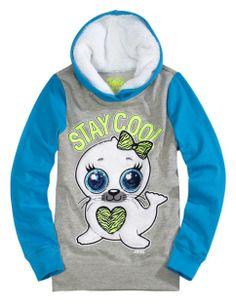 Critter Fleece Pullover Sweatshirt   Girls Sweatshirts Clothes   Shop Justice