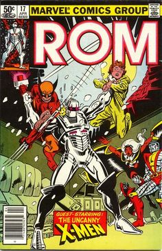 ROM guest staring The X-Men °°
