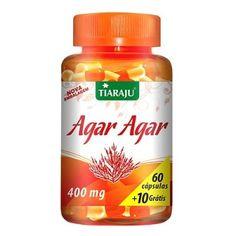 Agar Agar (Fibras de Algas Marinhas) Cápsulas - Tiaraju