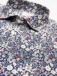 maninpink:  Hartford Flower Shirt