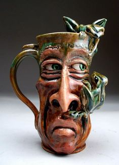 Grafton pottery mug